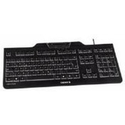 Cherry KC 1000 SC Security Wired UK Keyboard with Integrated Smart Card Terminal (Black)