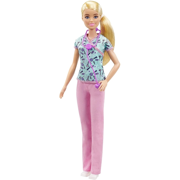 Barbie You Can Be Anything Blonde Nurse Doll