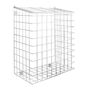 Letterbox Cage with Fixings   M&W