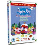 Peppa Christmas Triple Pack - Christmas / Cold Winter Day / Grotto DVD