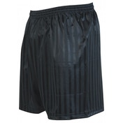 Precision Striped Continental Football Shorts 34-36 inch Black
