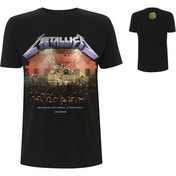 Metallica - Stockholm '86. Men's Large T-Shirt - Black