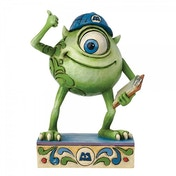 Disney Traditions Monsters Inc Good Morning Metropolis Mike Wazowski Figurine