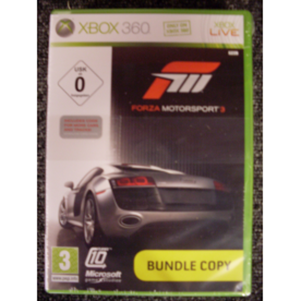 Forza Motorsport 3 (Bundle) Game Xbox 360
