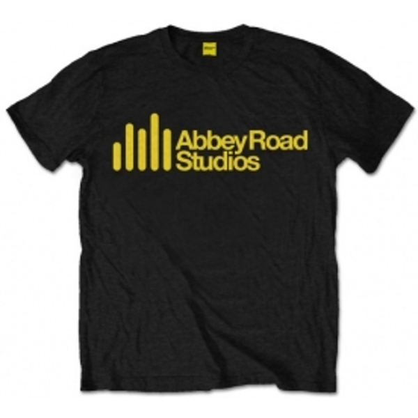 Abbey Road Studios Main Logo Mens Black T Shirt: XXL