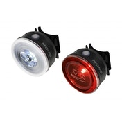 Sigma Mono 0.5W Black Front Light And Rear Light