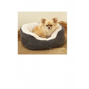 Rosewood Jumbo Cord/ Plush Dog Bed 32