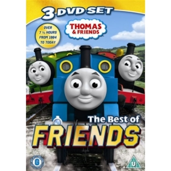 Thomas the Tank Engine and Friends Best of Friends DVD