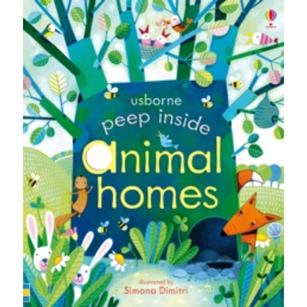 Peep Inside Animal Homes by Anna Milbourne (Board book, 2014)