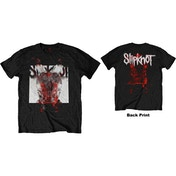 Slipknot - Devil Single - Logo Blur Men's Medium T-Shirt - Black
