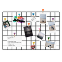 Pack of 2 Wall Hanging Grid Panels | M&W