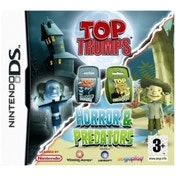 Ex-Display Top Trumps Horror & and Predators Game DS Used - Like New