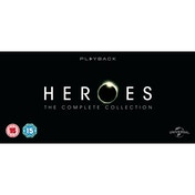 Heroes - Season 1-4 Complete (2012 Edition) DVD