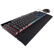 Corsair K55 Gaming Keyboard and HARPOON RGB Mouse - Black UK Layout