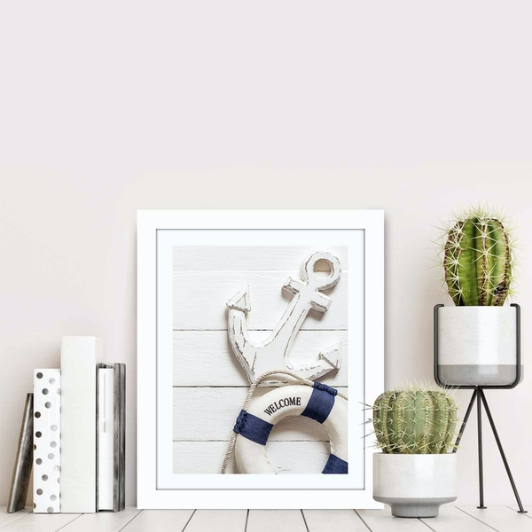 BCT-077 Multicolor Decorative Framed MDF Painting