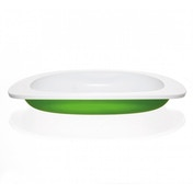 Koo-di Toddler First Plate Green