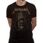 Metallica Hetfield Iron Cross Unisex XX-Large T-Shirt - Black