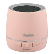 Hama Mobile Bluetooth Speaker, light rose