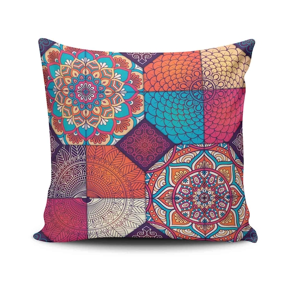 NKLF-374 Multicolor Cushion Cover