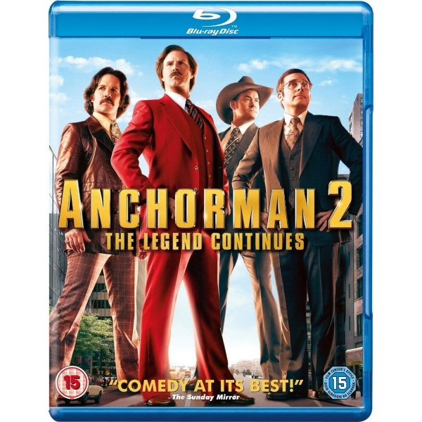 Anchorman 2 1-disc Blu-ray
