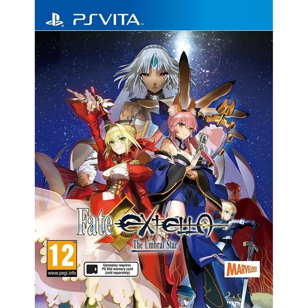 Fate Extella The Umbral Star PS Vita Game