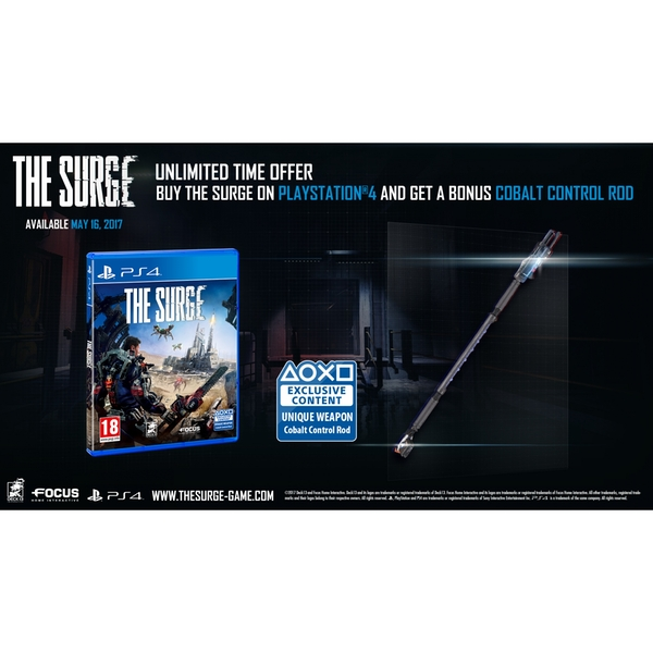 The Surge PS4 Game (Exclusive PS4 Bonus) - Image 2