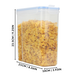 Set of 4 Cereal Containers | Pukkr - Image 6