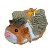 Zhu Zhu Pets Spring Hamster Outfit Plaid Suit and Hat