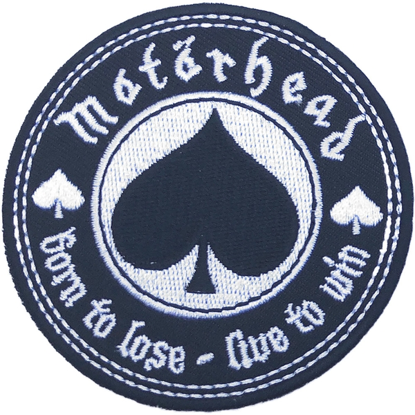 Motorhead - Born to Love, Live to Win Standard Patch
