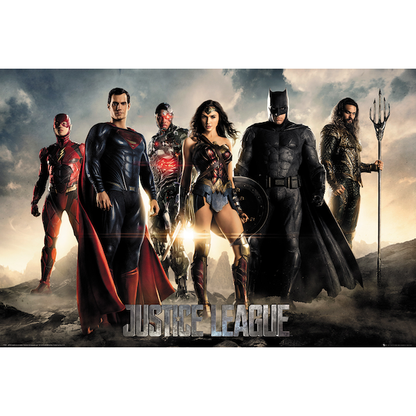 Justice League Movie Characters Maxi Poster