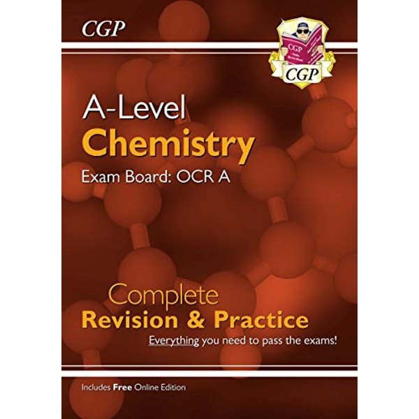 New A-Level Chemistry: OCR A Year 1 & 2 Complete Revision & Practice with Online Edition  Paperback / softback 2018
