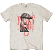 Peaky Blinders - Red Logo Tommy Men's Large T-Shirt - Sand