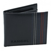 Kangol Stitch Wallet Black