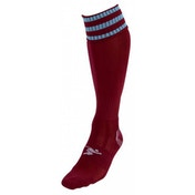 PT 3 Stripe Pro Football Socks Mens Maroon/Sky