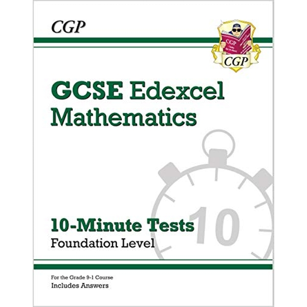 New Grade 9-1 GCSE Maths Edexcel 10-Minute Tests - Foundation (includes Answers)  Paperback / softback 2018
