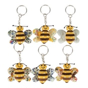 Sass & Belle Buzz Bee Keyring (1 Supplied)