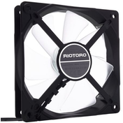 Riotoro Cross-X Classic Case Fan, 12cm, Hydraulic Bearing, White LED
