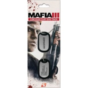 Mafia III 3 Clay Lincoln Dog Tags