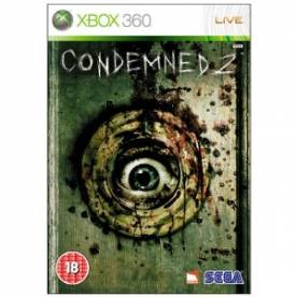 Condemned 2 Bloodshot Game Xbox 360