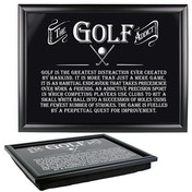 Ultimate Gift for Man Lap Trays Golf