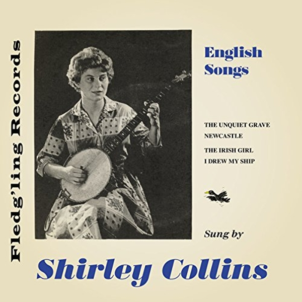 Shirley Collins - English Songs 7 Inch Vinyl