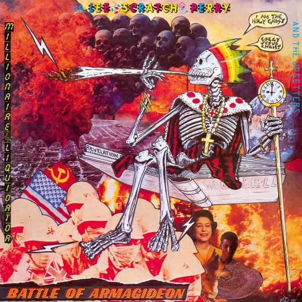 Lee Scratch Perry & The Upsetters - Battle Of Armagideon Orange  Vinyl