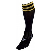PT 3 Stripe Pro Football Socks LBoys Black/Gold