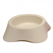 Rosewood Nuvola Plastic Dog Bowl 300ml 11cm/4.5inch WHITE