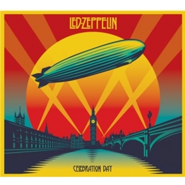 Led Zeppelin Celebration Day Live Recording CD