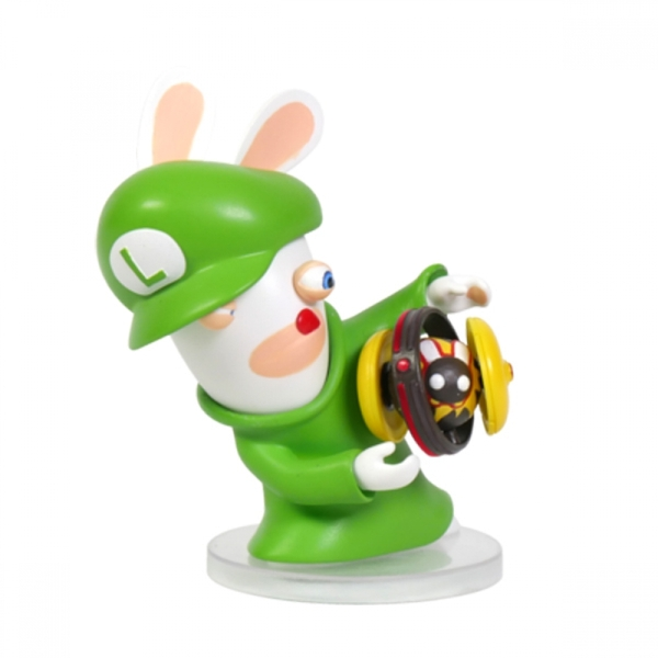 Mario and Rabbids Kingdom Battle Rabbid Luigi 3 inch