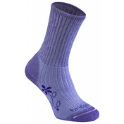 Bridgedale Women's Merinofusion Trekker Socks, Violet - Medium UK 5-6.5
