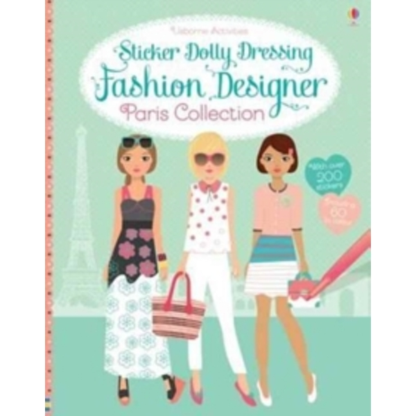 Sticker Dolly Dressing Fashion Designer Paris Collection by Fiona Watt (Paperback, 2017)