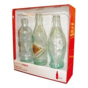 Coca Cola Full Size Evolution Bottle Set in Giftbox