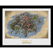 Elder Scrolls Online Morrowind Map Framed Collector Print - Image 2